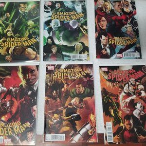 The Amazing Spider-man 6 lot